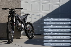 FX Bikes Basic Specifications FX-4 Daytona