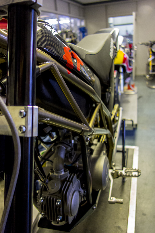 FX5 in Development at Harris Performance MotoGP Engineers